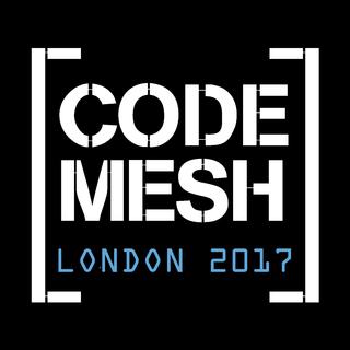 Code mesh 2017 logo black